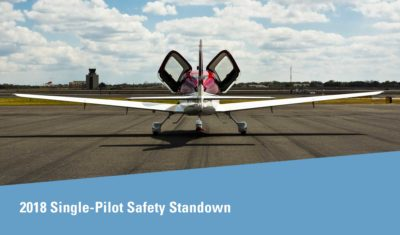 2018 Single-Pilot Safety Standdown