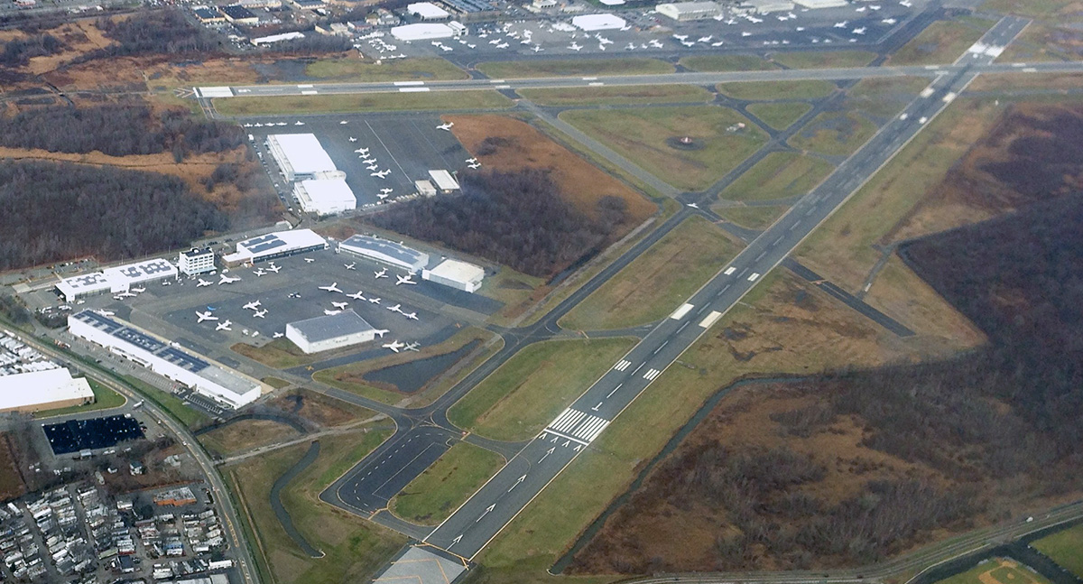 Teterboro from the air
