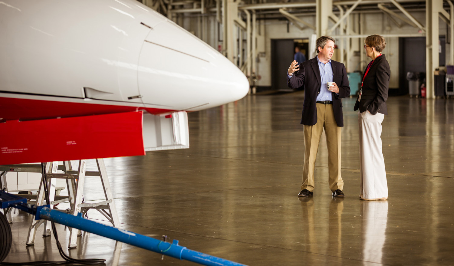 With a pre- and post-flight briefing, we help pilots avoid playing a guessing game.