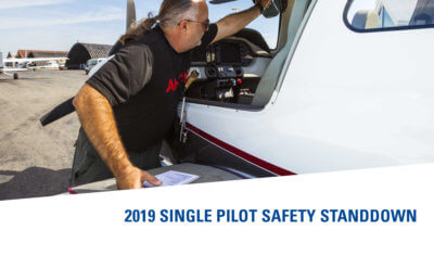 2019 Single Pilot Safety Standdown