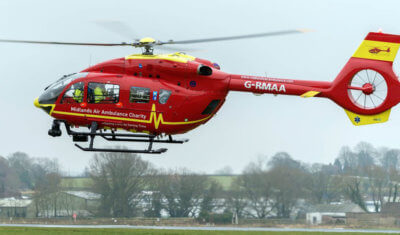 Air BP Offers Free Fuel to Air Ambulances in U.K.